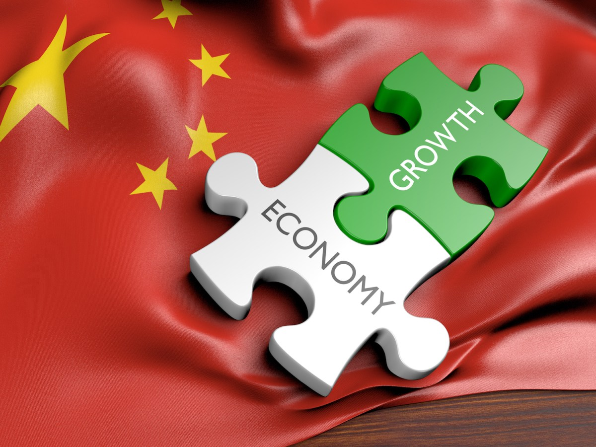 China's economy is starting to resemble a giant jigsaw puzzle. Photo: iStock