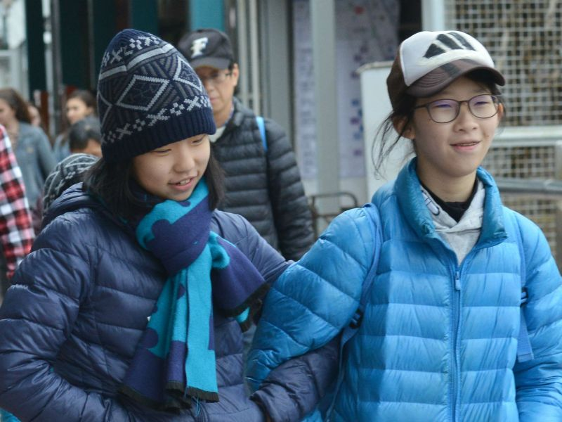 It will soon be time to wear warm clothes again in Hong Kong. Photo: HK Government