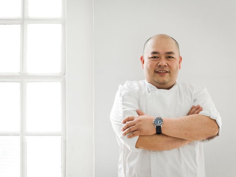 Chef Daren Liew. Photo: Joyce Ravara