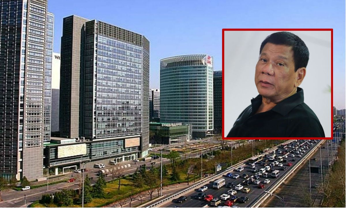 President Rodrigo Duterte will ask China to open its doors to Filipino workers. Photos: Wikimedia Commons, CobbleCC, PCOO EDP