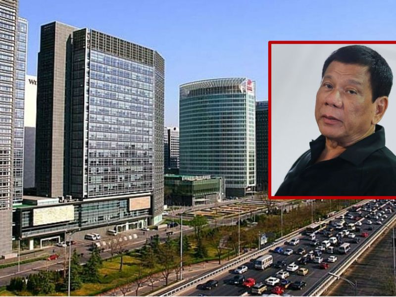 President Rodrigo Duterte will ask China to open its doors to Filipino workers. Photos: Wikimedia Commons, CobbleCC, PCOO EDP