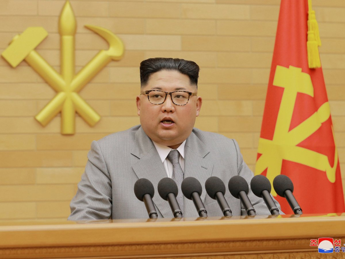Is Kim Jong-un's latest entreaty legit, or is he attempting yet another hustle in the tried and true Kim family regime tradition? Photo: Reuters / KCNA