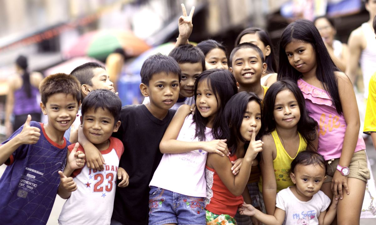 Children in Manila. Photo: iStock