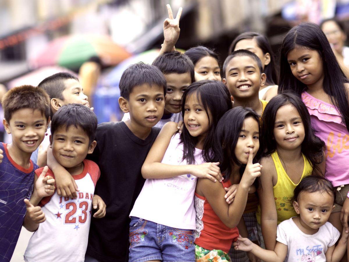 Children in Manila. Photo: iStock