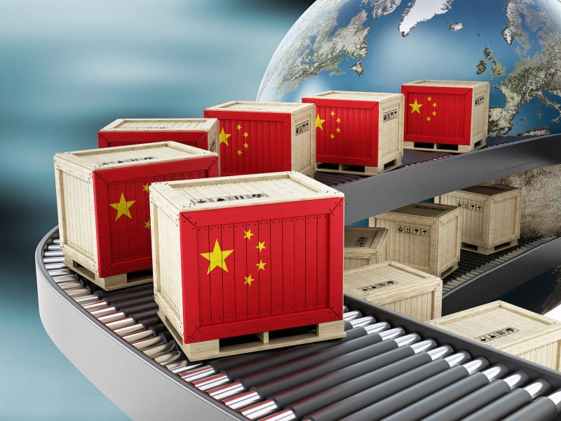 China's manufacturing conveyor belt is still humming along. Photo: iStock