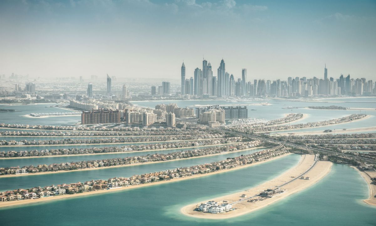 Palm Jumeirah in Dubai. Photo: iStock