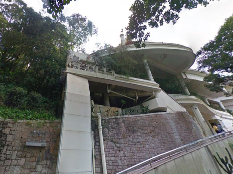 Mid-levels on Hong Kong Island. Photo: Google Maps