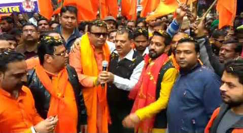 Hindutva party leaders in India's Punjab are applying for weapon licenses after a spate of killings. Photo: Courtesy YouTube