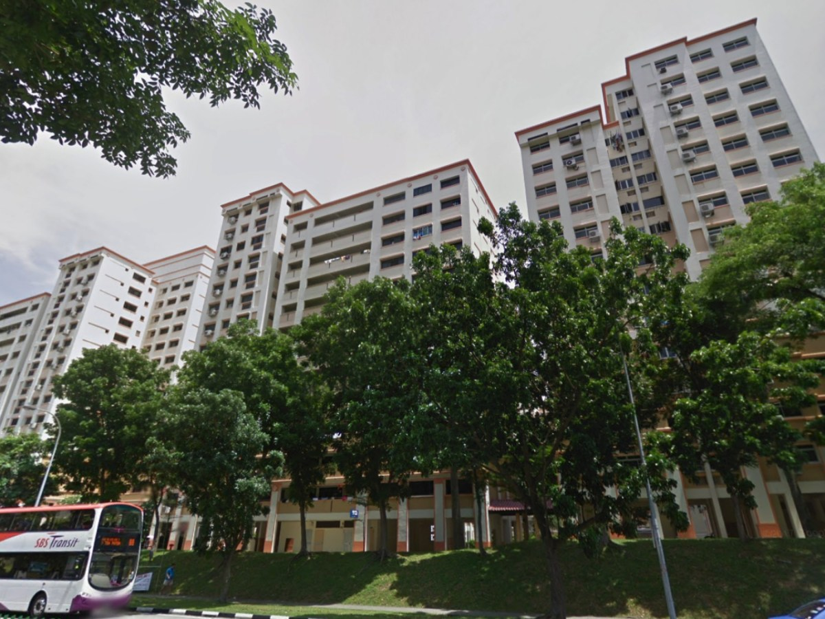 A HDB Block 912 on 91 Hougang Street, Singapore. Photo: Google Maps