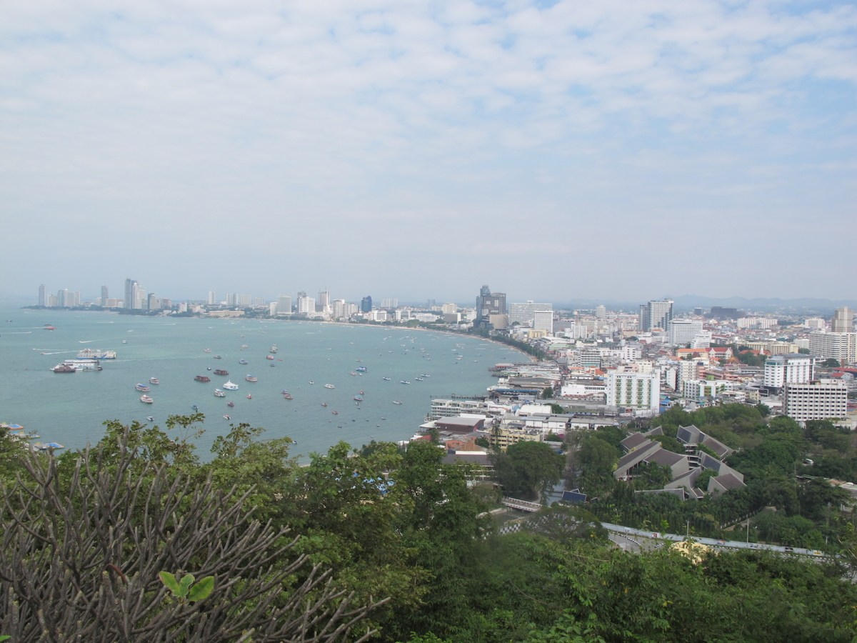 A skyline view of Thailand's Pattaya sea resort, an area that hopes to benefit from the government's Eastern Economic Corridor development scheme. Photo: Peter Janssen