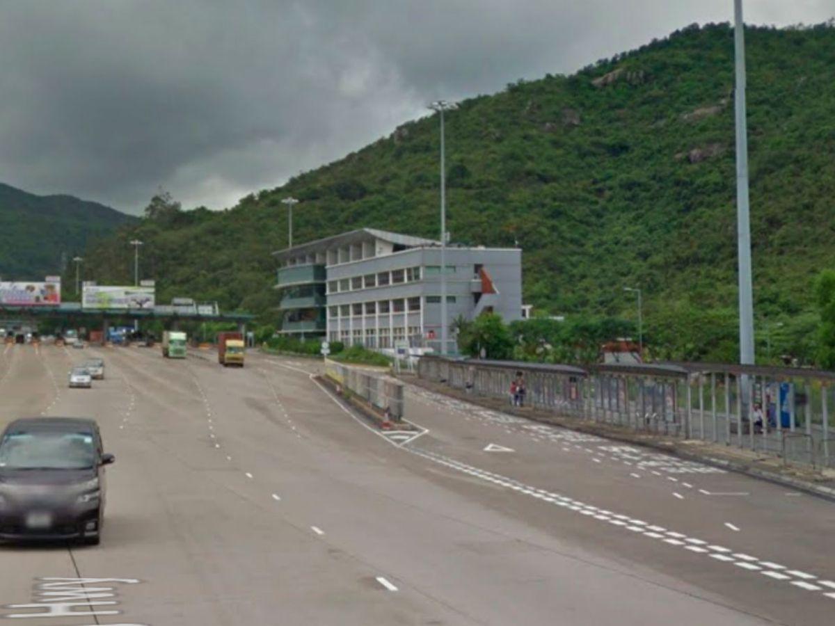 Police are investigating the fatal smash near Tai Lam Tunnel. Photo: Google Maps