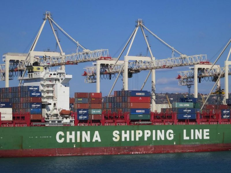 US protectionism could weigh on Chinese export growth, narrowing the trade surplus further. Photo: iStock