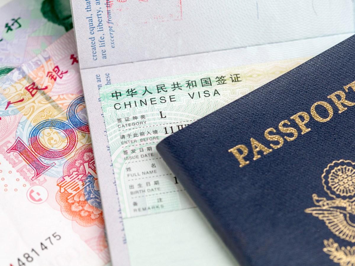 Chinese Visa. Photo: iStock
