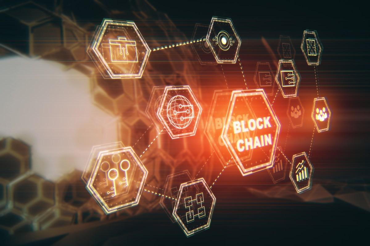 Blockchain technology. Photo: iStock