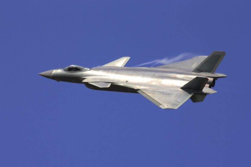 China's indigenous fifth-generation J-20 stealth fighter. Photo: PLA Daily