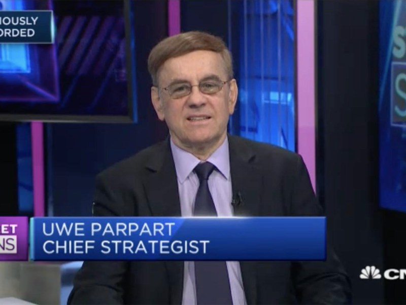 Capital Link International chief strategist Uwe Parpart. Photo: CNBC screen grab