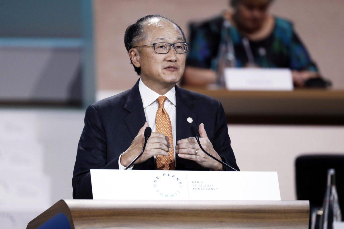 World Bank President Jim Yong Kim. Photo: AFP