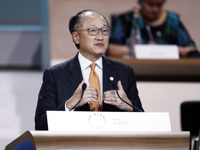 World Bank President Jim Yong Kim. Photo: AFP