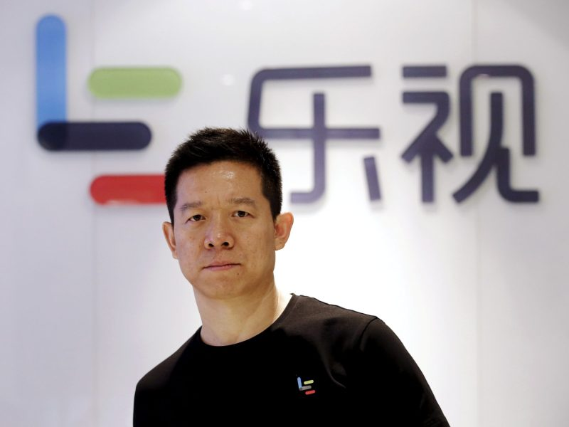 Jia Yueting, co-founder and head of Le Holdings Co Ltd, also known as LeEco, in his heyday. Photo: Reuters/Jason Le