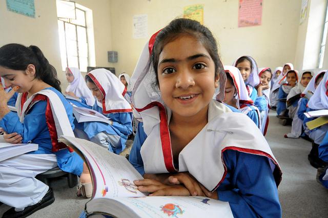 Pakistan classroom. Photo: Flickr Commons
