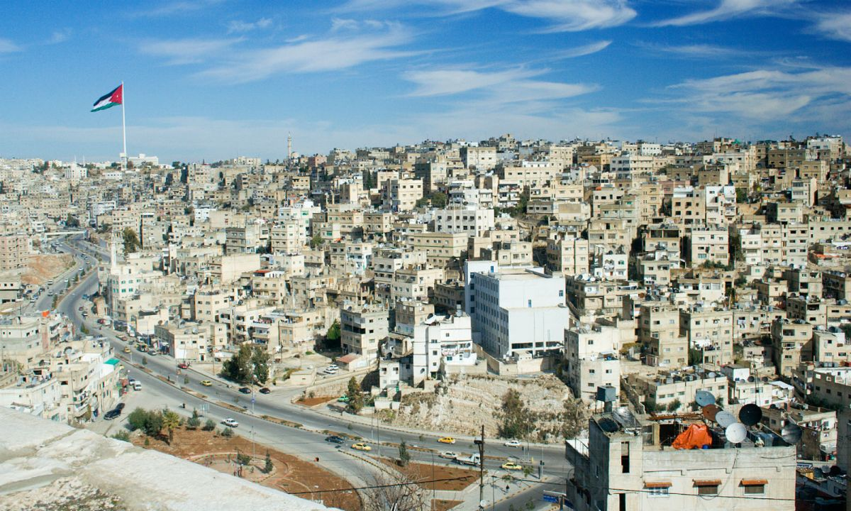 Amman, the capital of Jordan. Photo: Wikimedia Commons, David Bjorgen