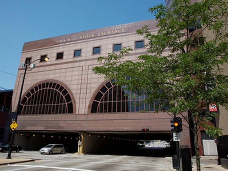 Chicago Stock Exchange building. Photo: Wikipedia