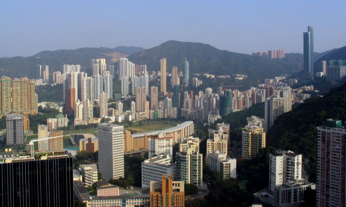 Happy Valley, Hong Kong. Photo: Wikimedia Commons, Baycrest