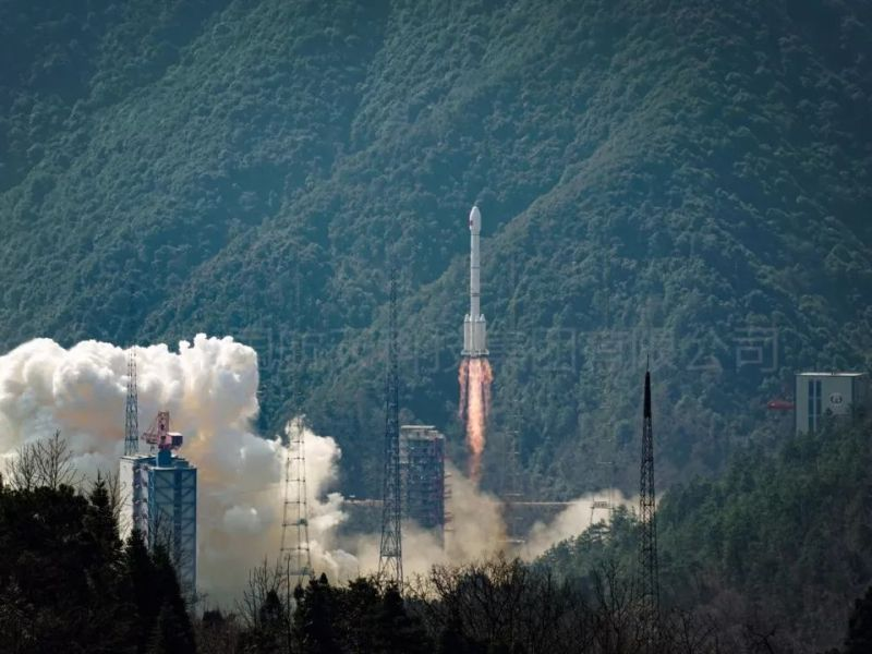 The Yuanzheng rocket upper stage spacecraft delivered two BeiDou navigation satellites into orbit in one launch atop a Long March rocket earlier this month. Photo: Xinhua