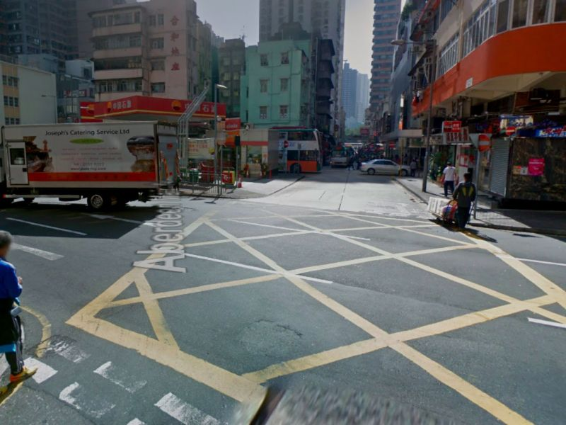 Aberdeen on Hong Kong Island. Photo: Google Maps
