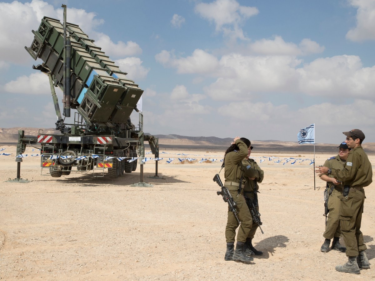 A Patriot missile launcher near the  Israeli city of Eila. Photo: AFP/Jack Guez