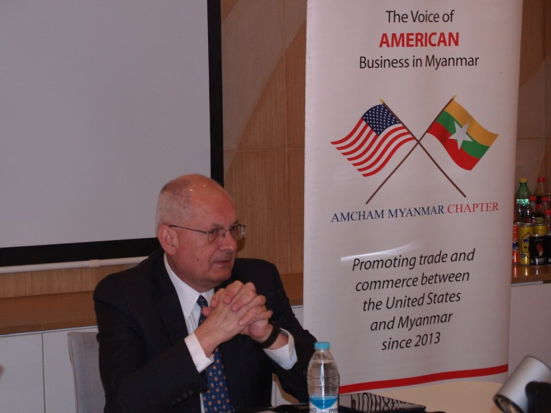 American lawyer Eric Rose announced on February 1, 2018 his New York-based law firm's decision to close its affiliate office in Yangon after only five years in business. Photo: Courtesy of Eric Rose