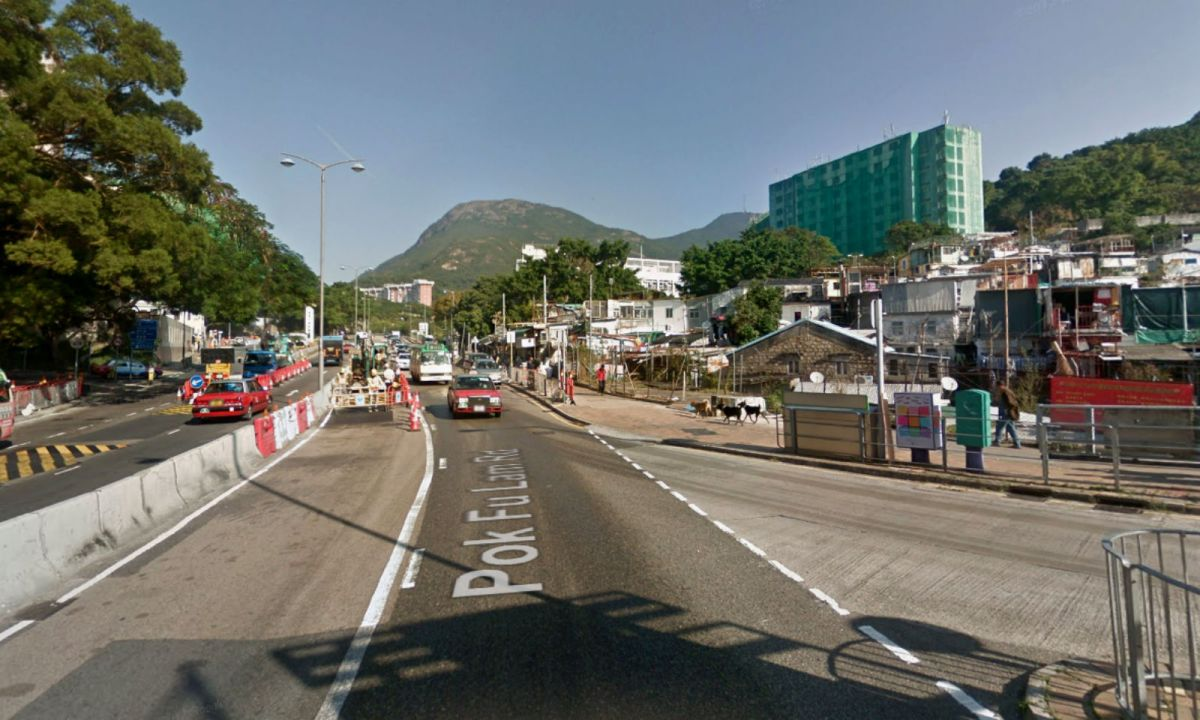 Pok Fu Lam, Hong Kong. Photo: Google Maps