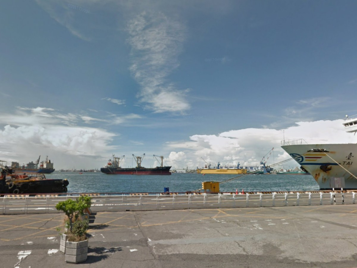 Kaohsiung Harbor in southern Taiwan. Photo: Google Maps