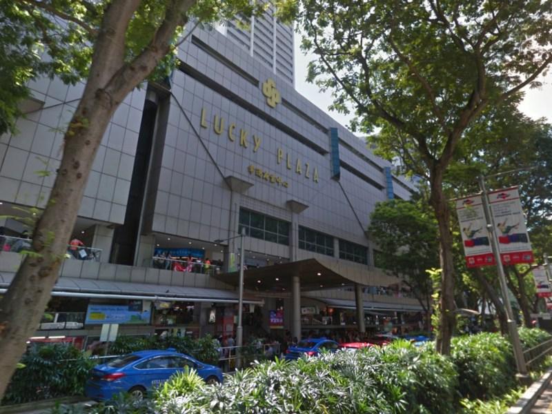 Lucky Plaza on 304 Orchard Road, Singapore. Photo: Google Maps