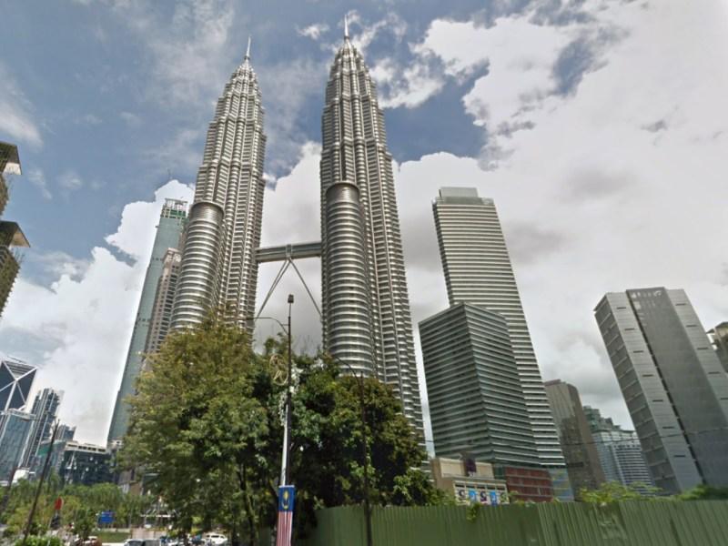 Kuala Lumpur, Malaysia. Photo: Google Maps