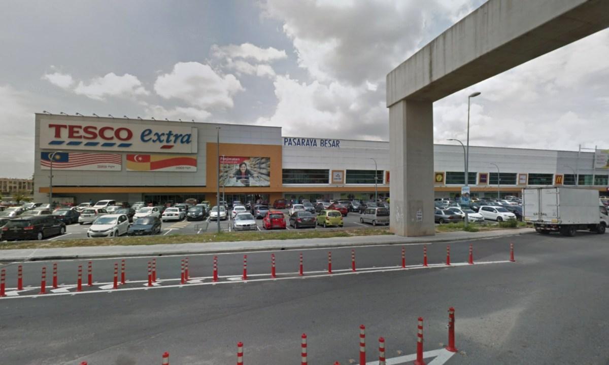 Tesco Extra Puchong, Selangor, Malaysia. Photo: Google Maps