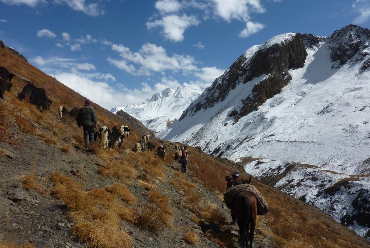 The rugged Wakhan Corridor of Badakhshan province in northern Afghanistan. Photo: AFP