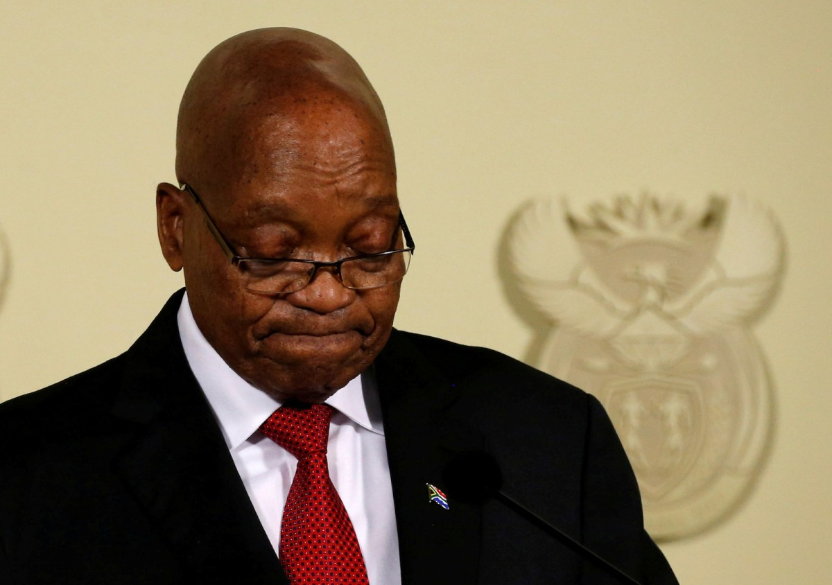 Jacob Zuma has been forced to resign as President of South Africa. Photo:  Reuters / Siphiwe Sibeko