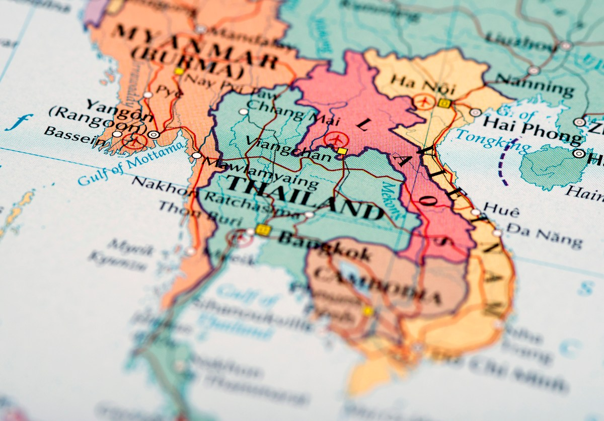 Map of Southeast Asia. Image: iStock