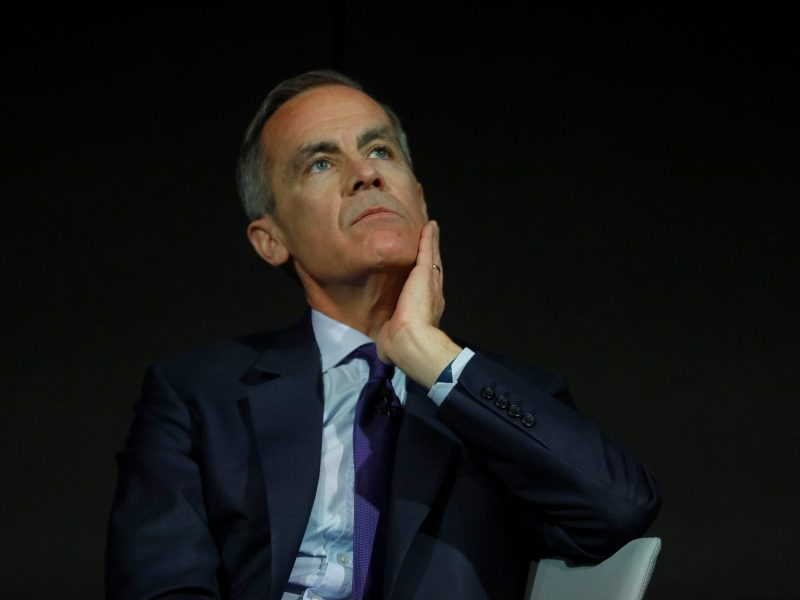 The Governor of the Bank of England, Mark Carney. Photo: Reuters / Peter Nicholls