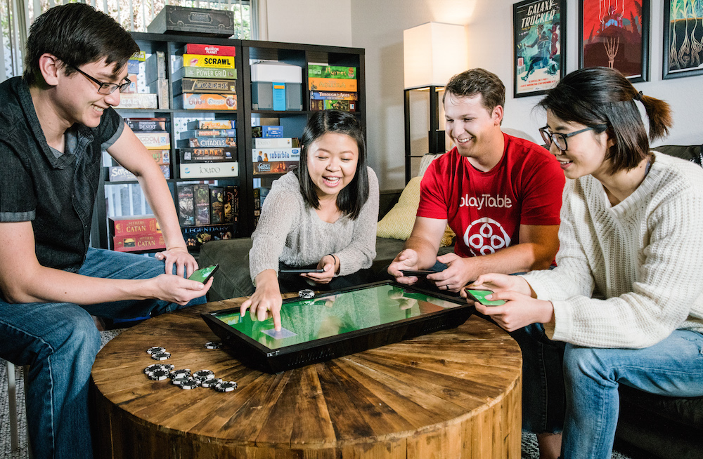 """The PlayTable game hopes to be a """"seamless bridge between the digital and physical worlds."""" Image: Katerina Hung / Blok.Party"""
