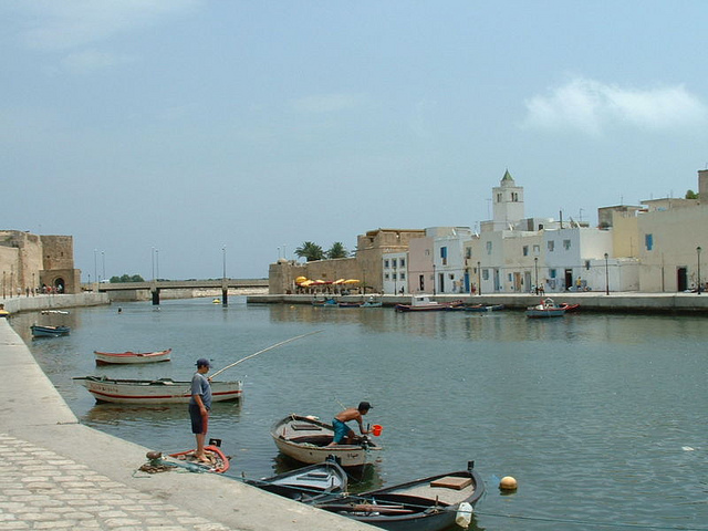 Bizerte port in Tunisia. Photo: Flickr Commons