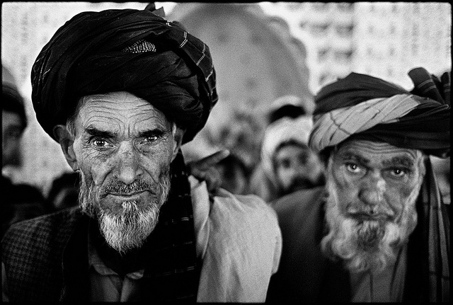 Pastun elders.  Photo: Flickr Commons