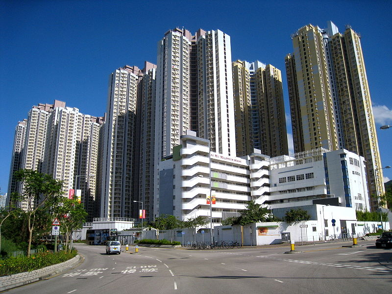 The incident occurred on Wednesday morning at the Ching Ho Estate in Hong Kong's Sheung Shui district. Photo: WiNG/WikiMedia