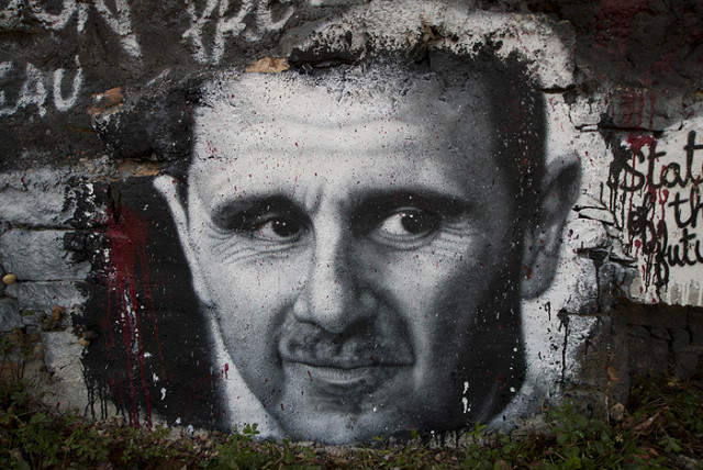 Bashar al-Assad grafitti. Photo: Flickr Commons