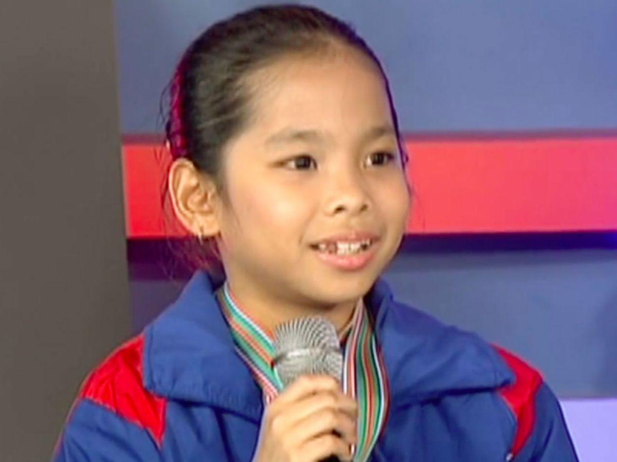 Young ice skater Ayasofya Vittoria Aguirre. Photo: Wikimedia Commons