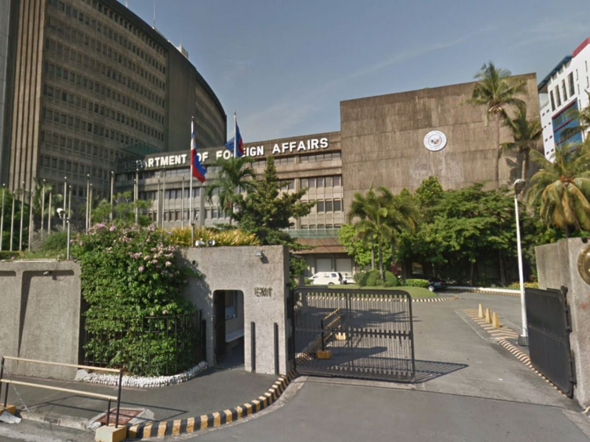 The Department of Foreign Affairs in Manila, Philippines. Photo: Google Maps