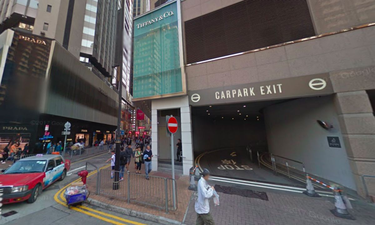 Causeway Bay in Hong Kong where the accident happened. Photo: Google Maps