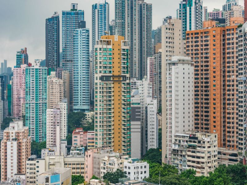 Residential buildings in Hong Kong. Photo: iStock