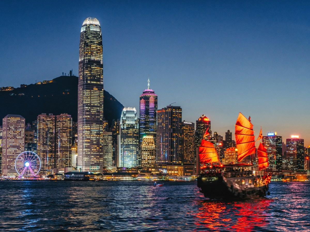 Hong Kong sparkles beneath the night sky. Photo: iStock